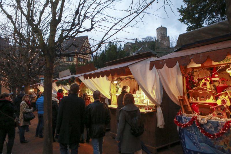 Les Marchés de Noël desservis par les Navettes de Noël du Pays des Etoiles • Kaysersberg